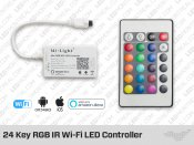 24 Key IR and Wi-Fi Controller for RGB LED Strip (Mi-Light)