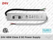 24V iP67 Hard Wired Class2 LED Drivers 24W(1A) to 96W(4A)