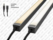 1M U-Shape Rigid Aluminium LED Bar Kit, 72 LEDs