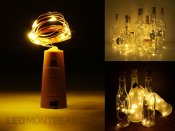 Bottle Cork with Warm White 2m LED Fairy String Lights