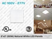 2x2 Feet LED Panels
