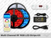 12V RF Multi Channel (1 to 99) RGB LED Strips Kit