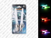 Pack of 2 LED Bike Wheel Valve Cap Lights