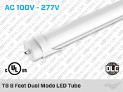 T8 8 Feet Dual Mode LED Tube