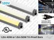 Tri Proof LED Bar 40W or 50W