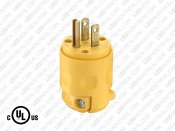 120V Wall Plug for Hard Wired Power Supply (U-Ground)