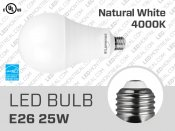 A35 25W Dimmable E26 LED Light Bulb