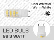 Ampoule LED G9 2835 Super Brillante